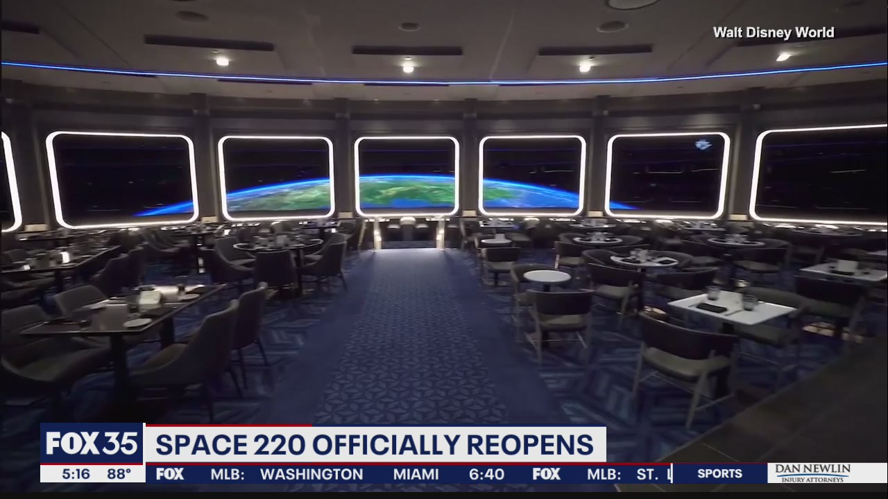 'Space 220' restaurant opens at Epcot