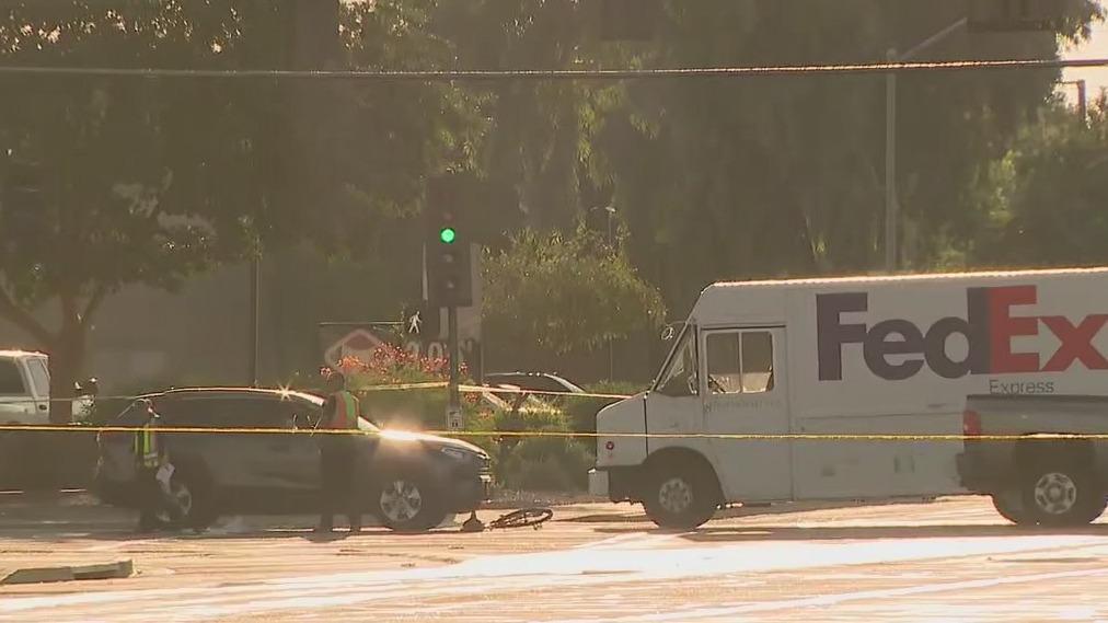 Bicyclist hit by 2 trucks in North Phoenix