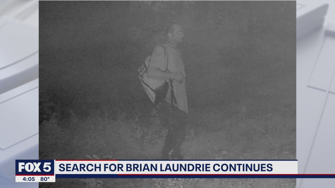 Man matching Brian Laundrie's description caught on trail camera