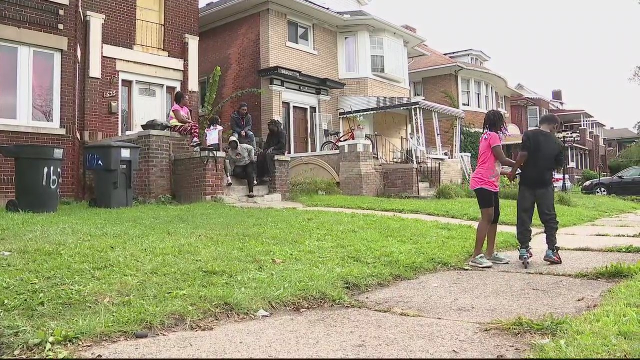 Detroit family comes home to massive police presence at next door home