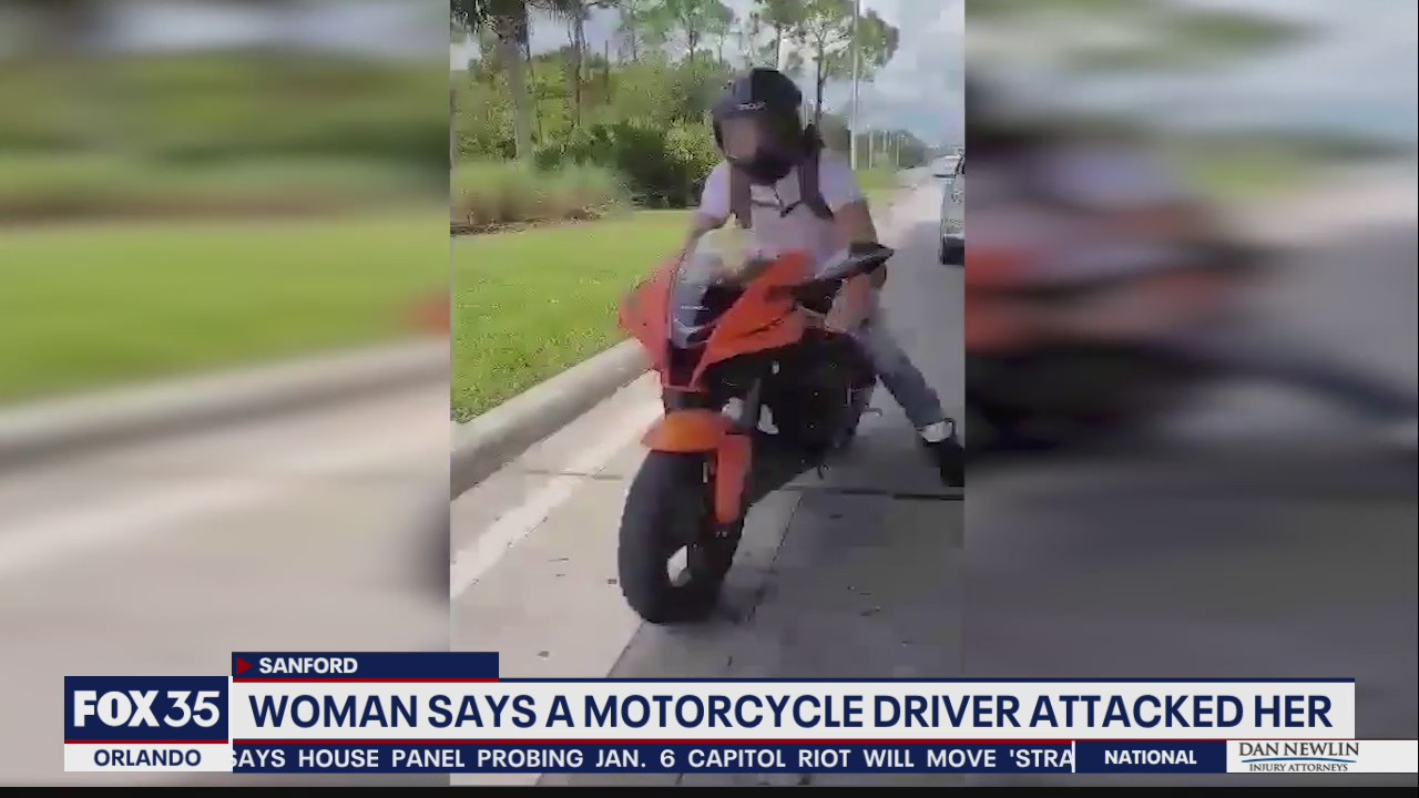 Florida woman says she was attacked during road rage incident