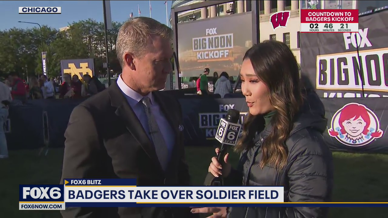 Badgers take on Notre Dame at Soldier Field