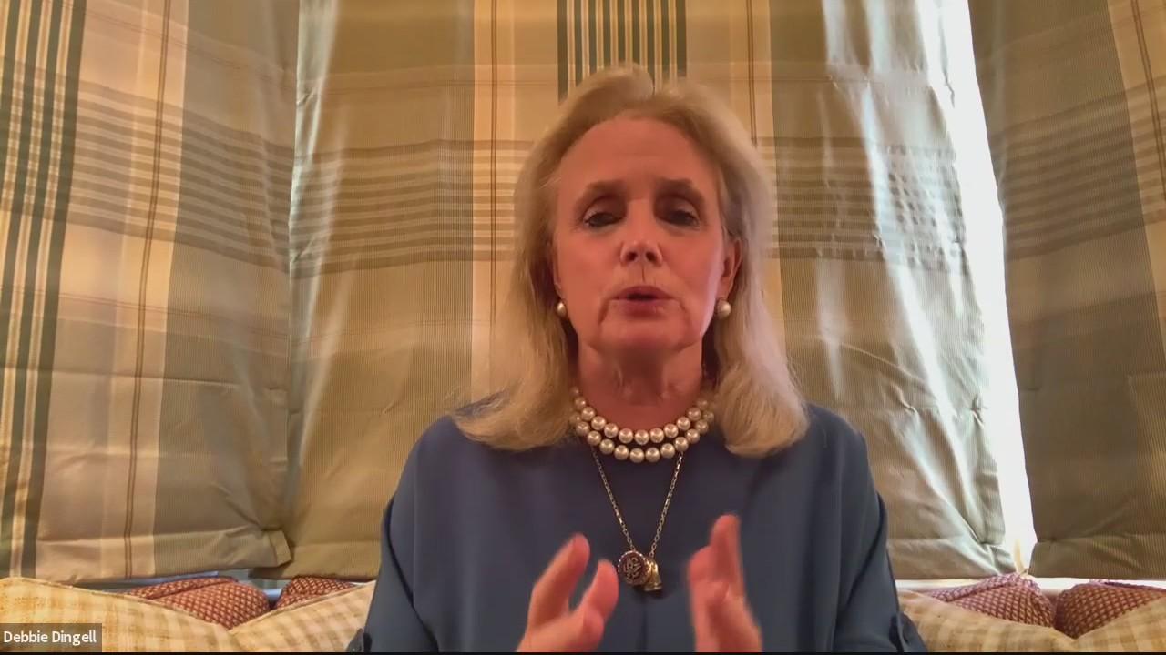 Congresswoman Debbie Dingell talks about war of words with Rep. Marjorie Taylor Greene