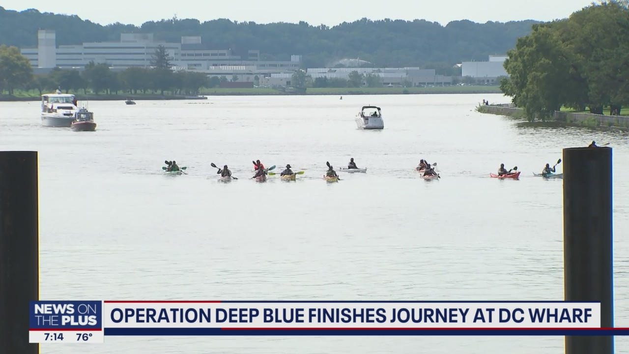 Operation Deep Blue Finishes Journey at DC Wharf