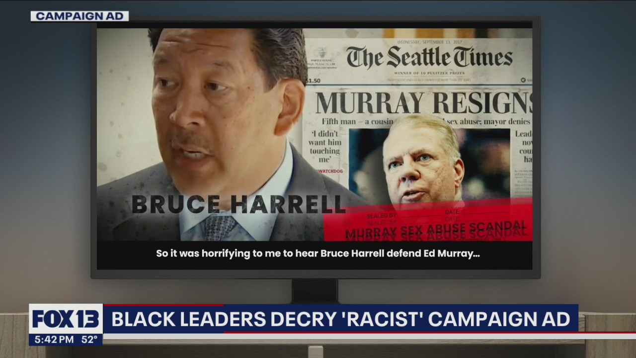 Black leaders decry 'racist' Seattle Mayor campaign ad