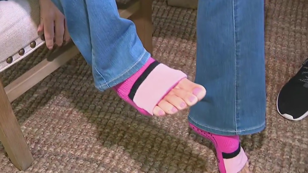 Sockabu: Valley mom's new design has flip function for toes