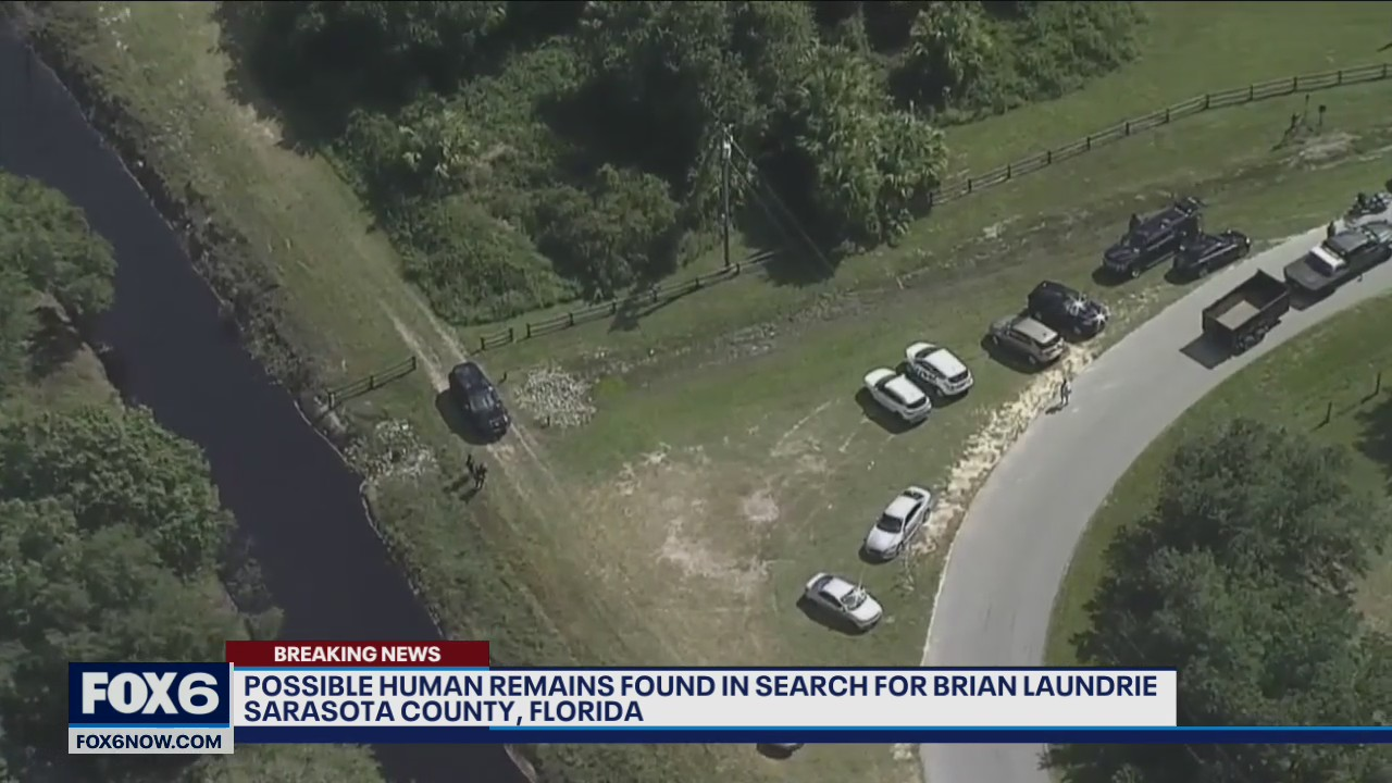 Brian Laundrie search: Possible human remains found near fugitive's belongings