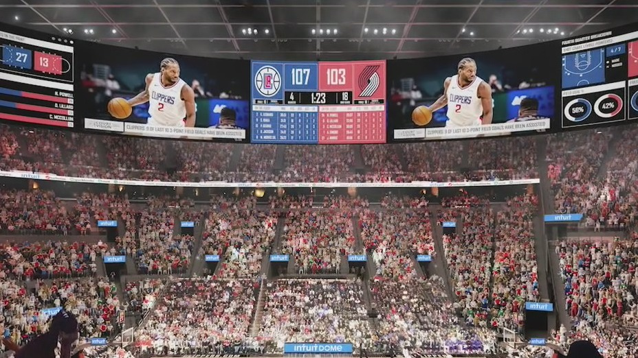 Clippers to break ground on 'Intuit Dome'
