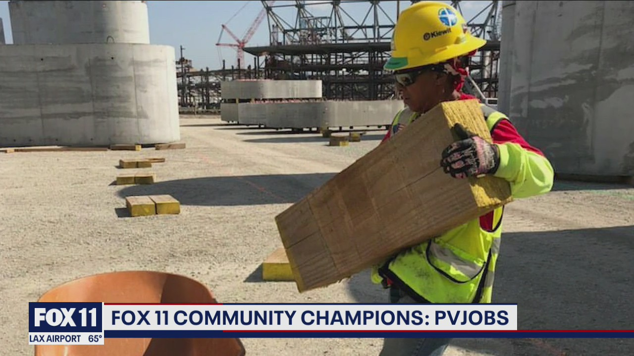 Community Champions: Construction worker helps build SoFi Stadium