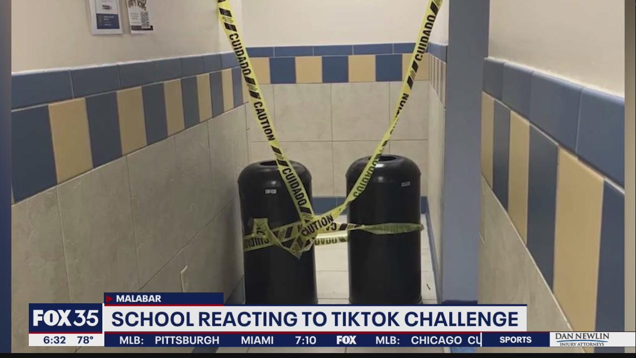 School reacts to TikTok challenge