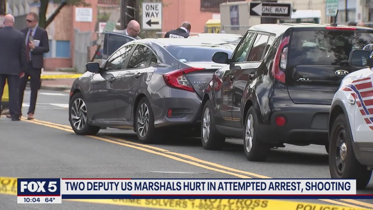 2 deputy U.S. Marshals arrested while attempting to arrest suspect