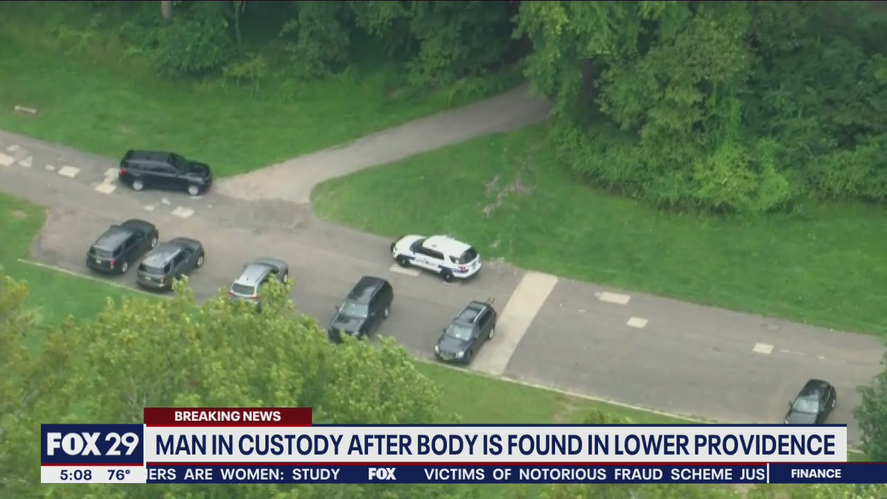 Woman's body found in Lower Providence Twp. after man reports homicide to police, DA says