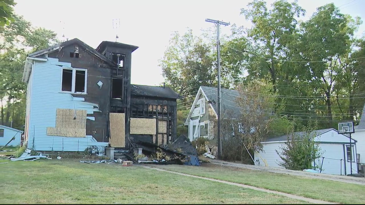 Historic Ann Arbor home goes up in flames as occupant rushed to hospital