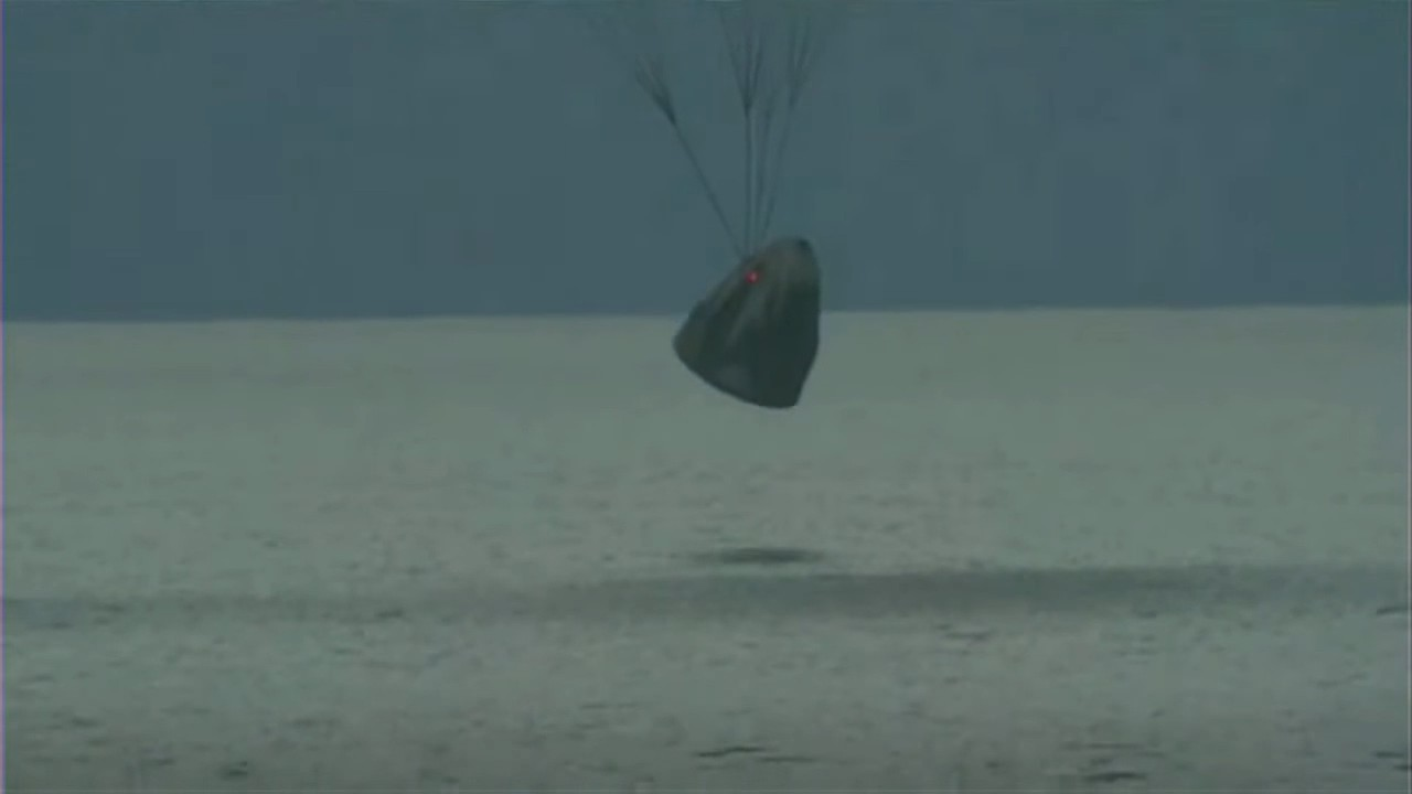 Inspiration4 crew splashes down safely back to Earth