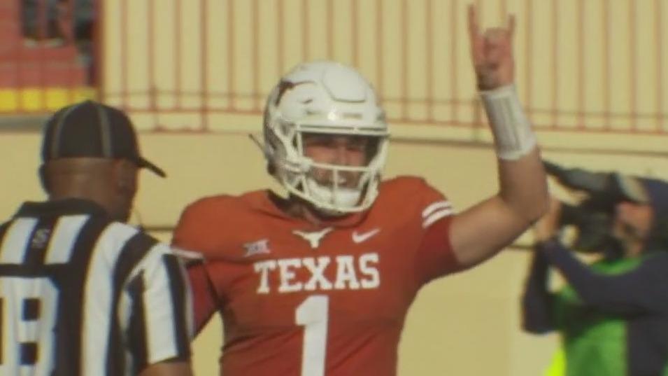 Texas Longhorns quarterback Hudson Card hopes to continue high level at Arkansas