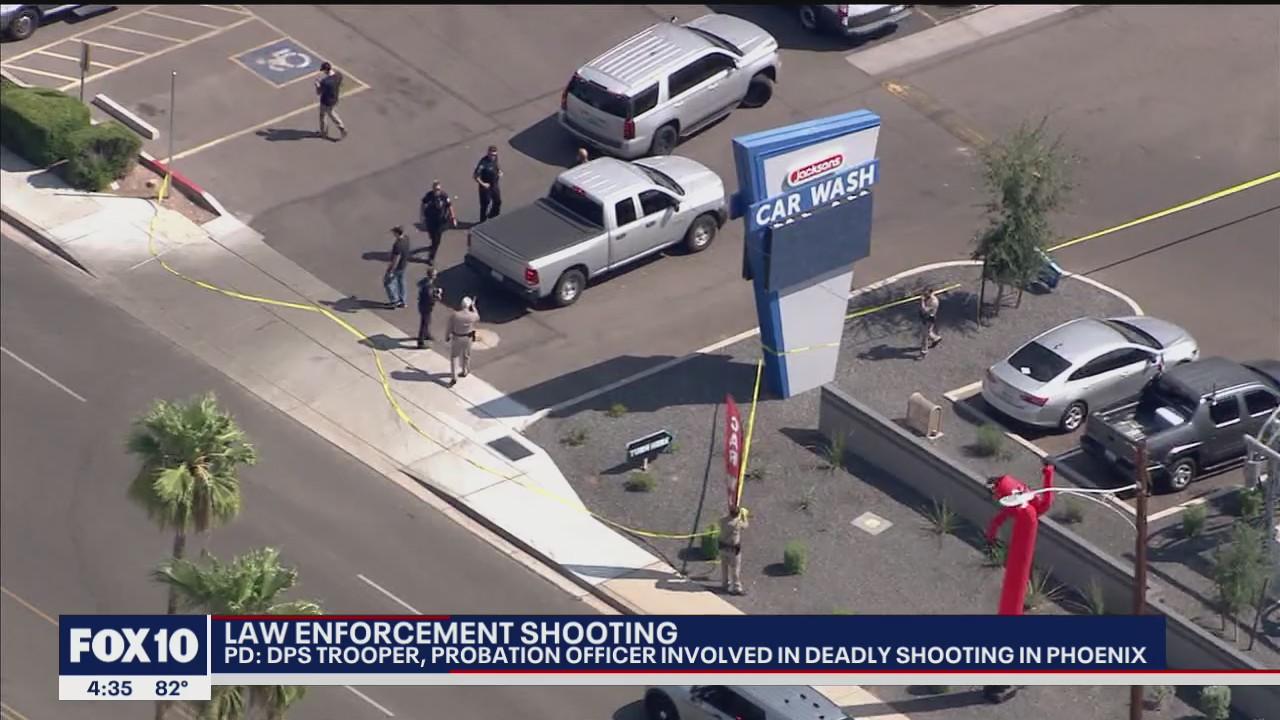 Fugitive kills self, woman fatally shot by Arizona officers