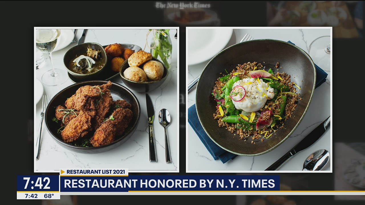 Chef Tiffany Derry's Roots Southern Table restaurant honored by New York Times