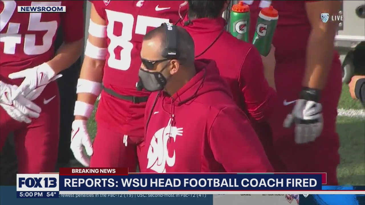 Reports: WSU fires head football coach Nick Rolovich as state vaccine mandate deadline arrives