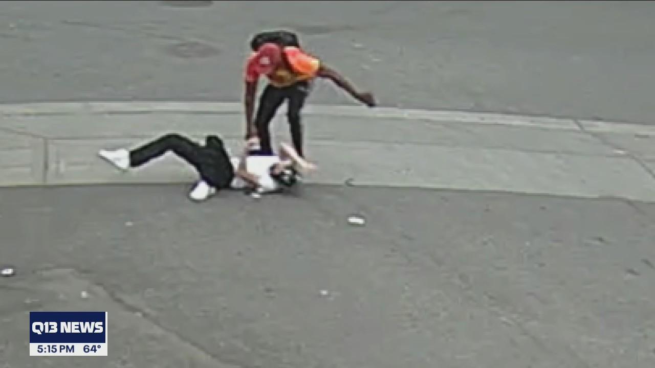 Seattle Police hunts for suspect after brutal attack