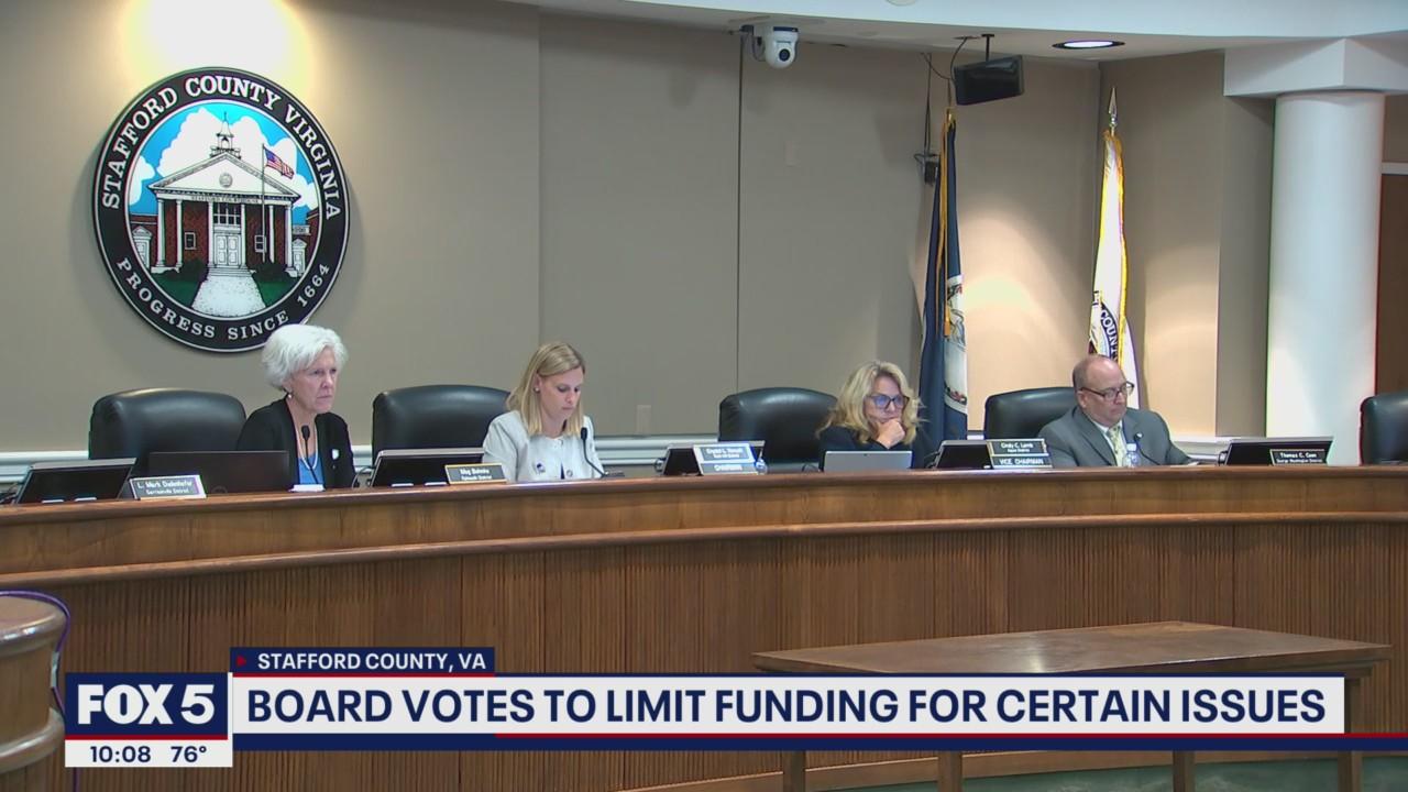 Stafford County School Board denounces Critical Race Theory, 1619 Project, preferred pronouns