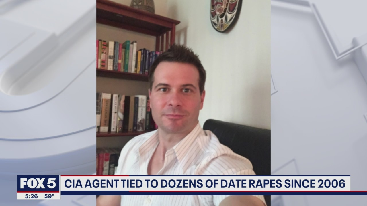 Former CIA agent tied to dozens of date rapes since 2006