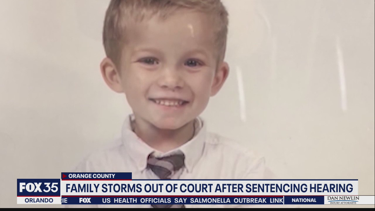 Family storms out of court after sentencing hearing