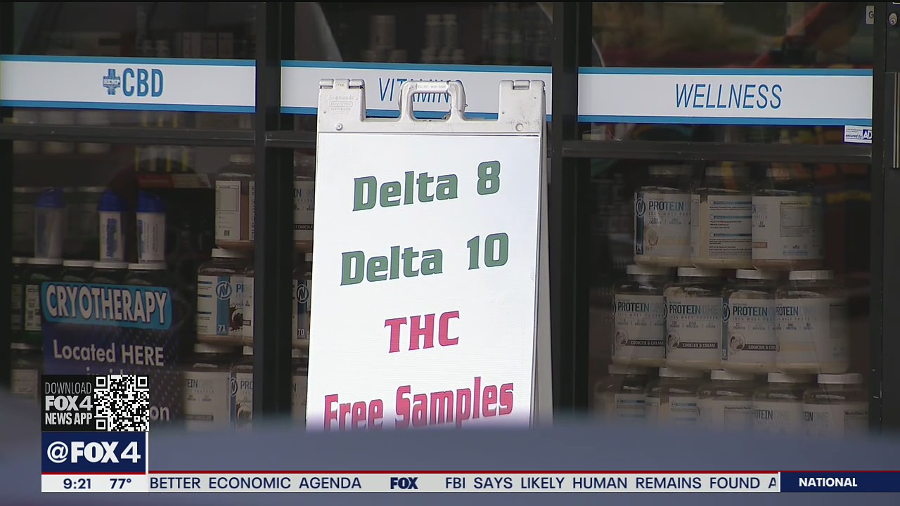 Delta-8 THC is illegal, Texas Department of State Health Services says