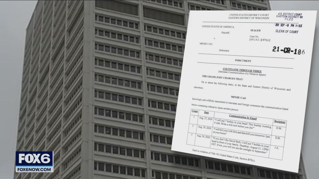 Indictment: Georgia man allegedly threatened Kenosha mayor, others