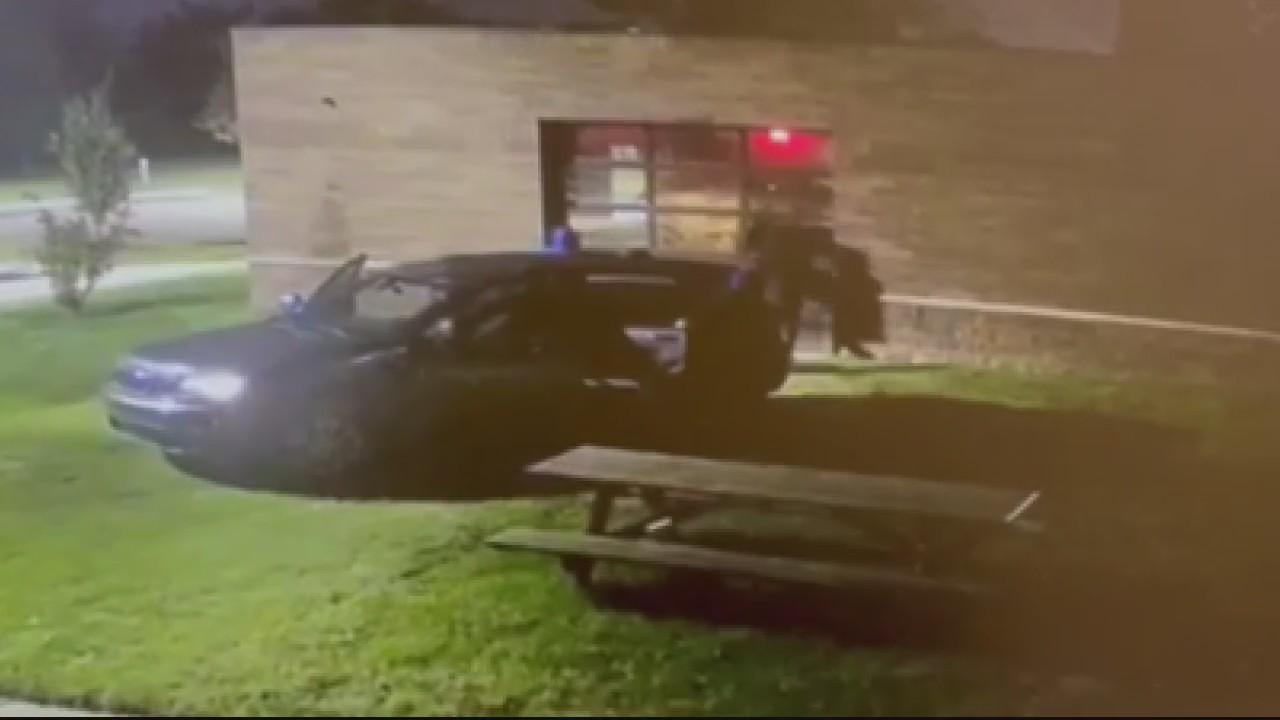 Surveillance video released of attempted gun store break-in