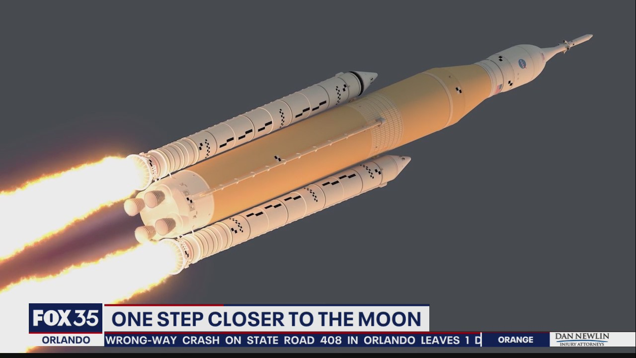 One step closer to the moon