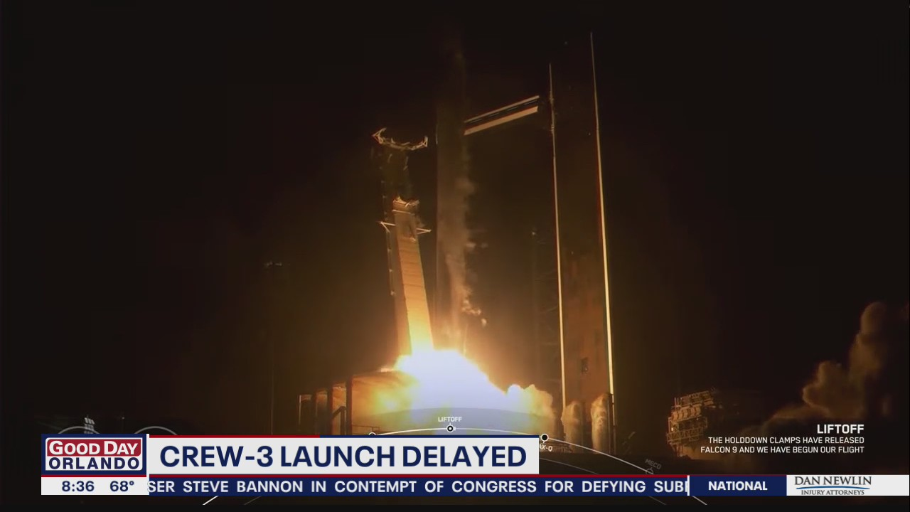 SpaceX Crew-3 mission delayed, now scheduled for Halloween