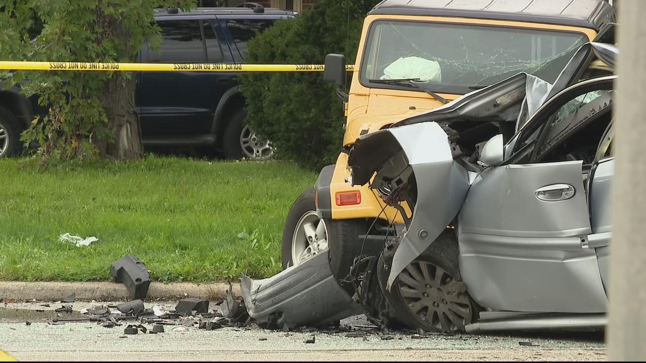 A 3-car crash results in 4 arrests in Garden City road rage incident