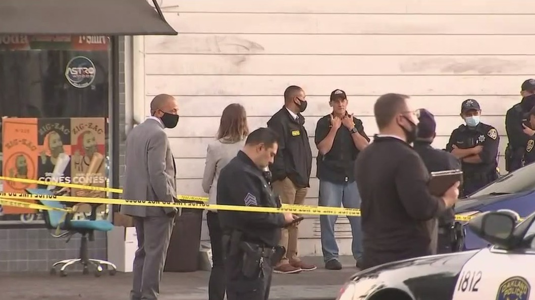 Double homicide, triple shooting and fatal FBI agent shooting all on a Monday in Oakland