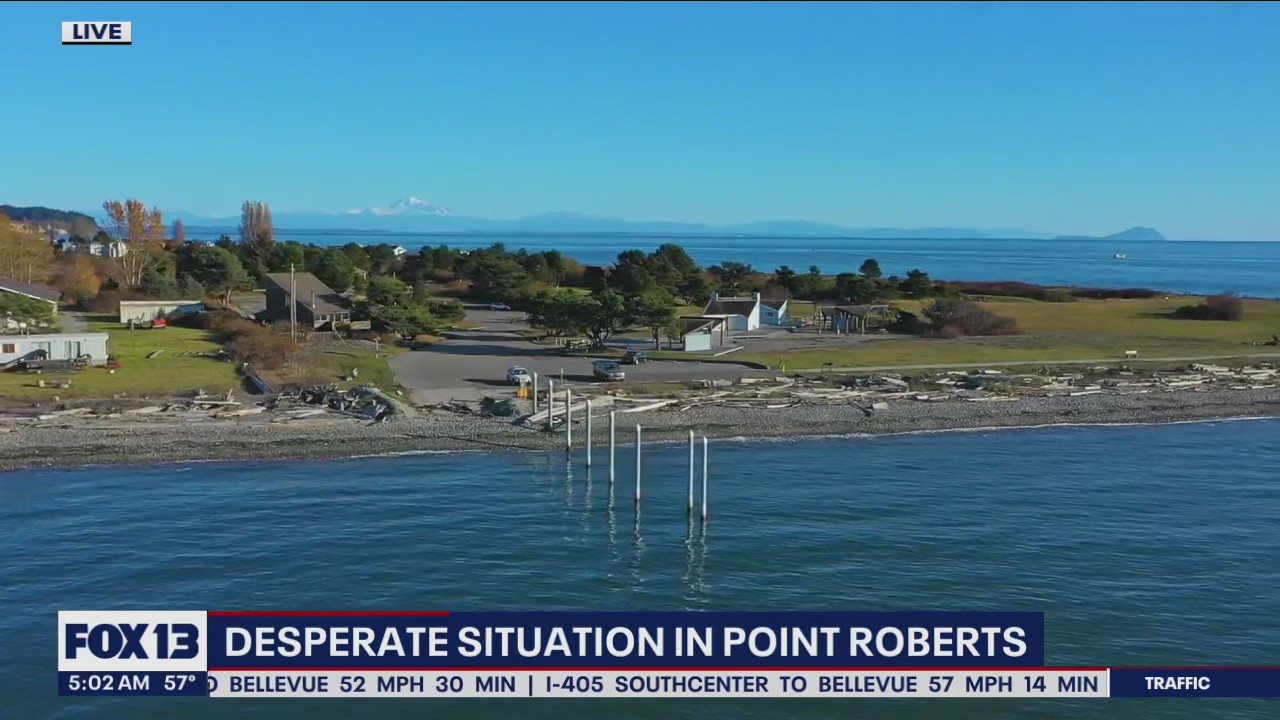 Desperate situation in Point Roberts