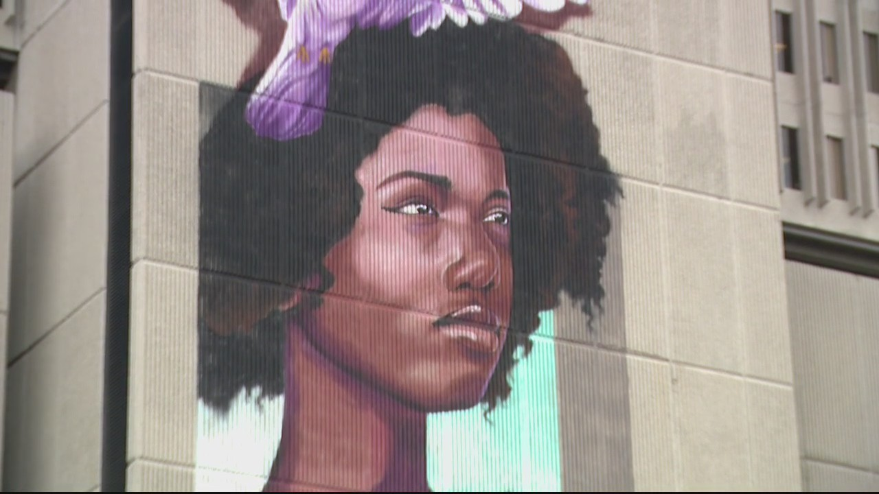 Frank Murphy Hall of Justice to have one of largest 3D murals to help fight hunger