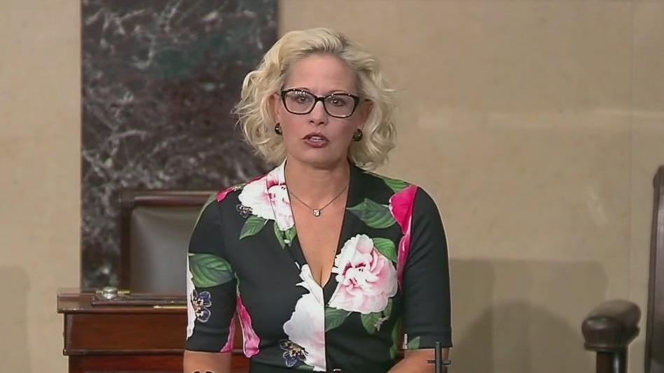More backers of Arizona Senator Sinema defect over her Biden plan objections