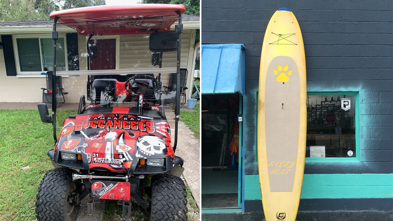 Great Rides: 1996 'Easy Go' golf car and C-Ride stand-up paddleboard