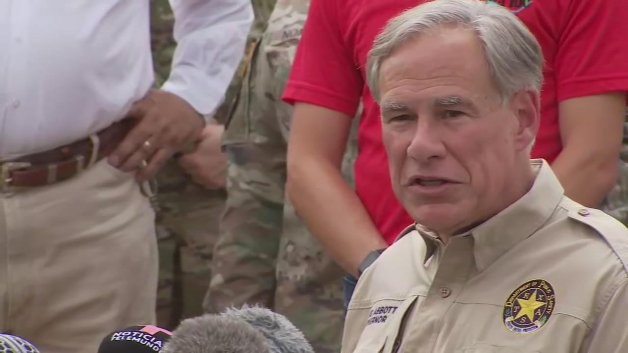 Governor Abbott provides border security update in Del Rio