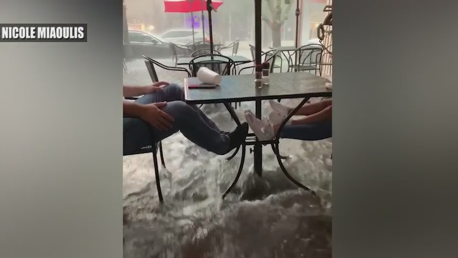 Record rainfall brings flash flooding to parts of Central Florida