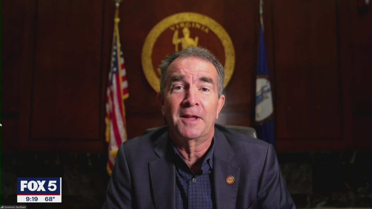A year after getting COVID-19, Virginia Governor Ralph Northam still doesn't have sense of smell or taste