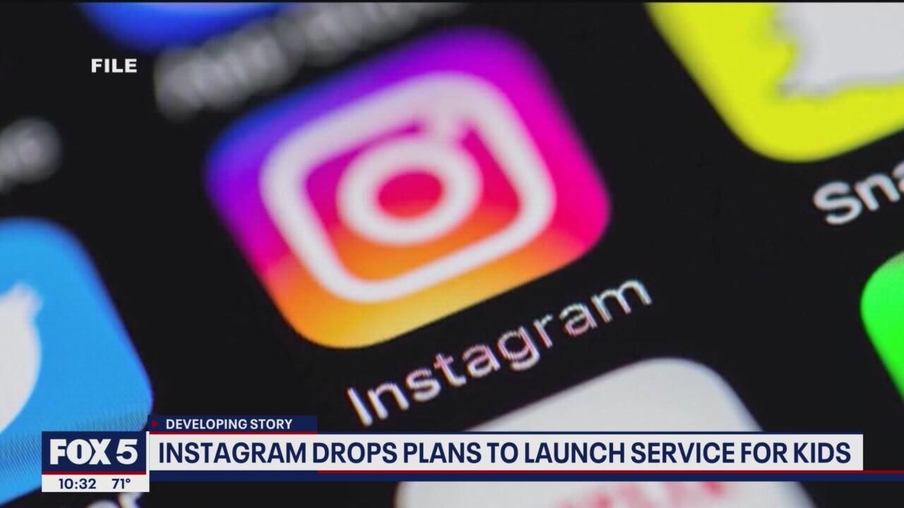 Facebook pauses development of 'Instagram Kids' app after pushback