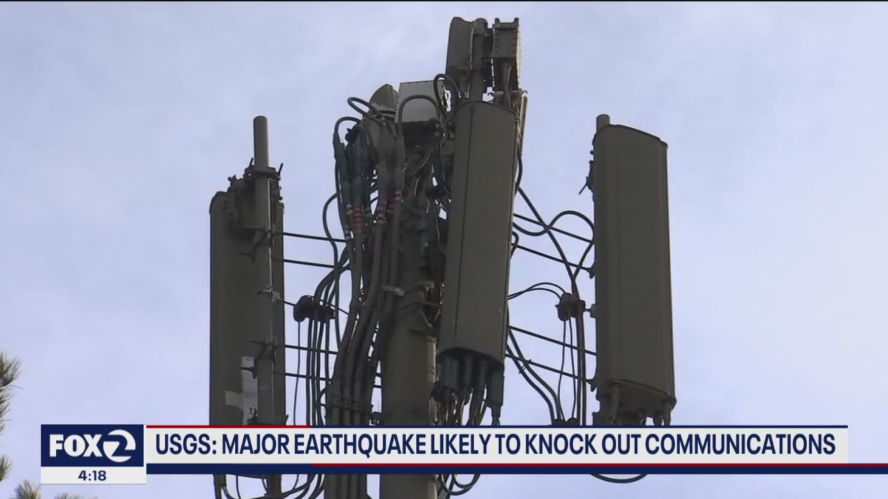 Major earthquake would likely knock out communications infrastructure