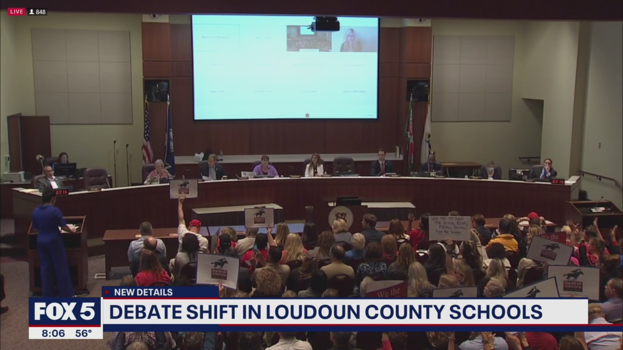Loudoun County School Board releases new guidelines for public comment during meetings