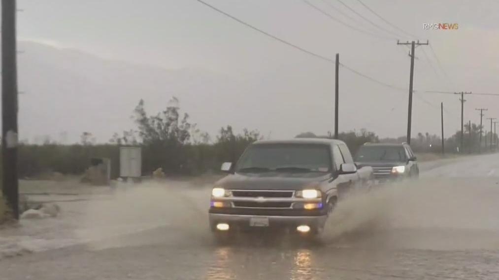 Storm Watch: Rail, hail batter parts of SoCal