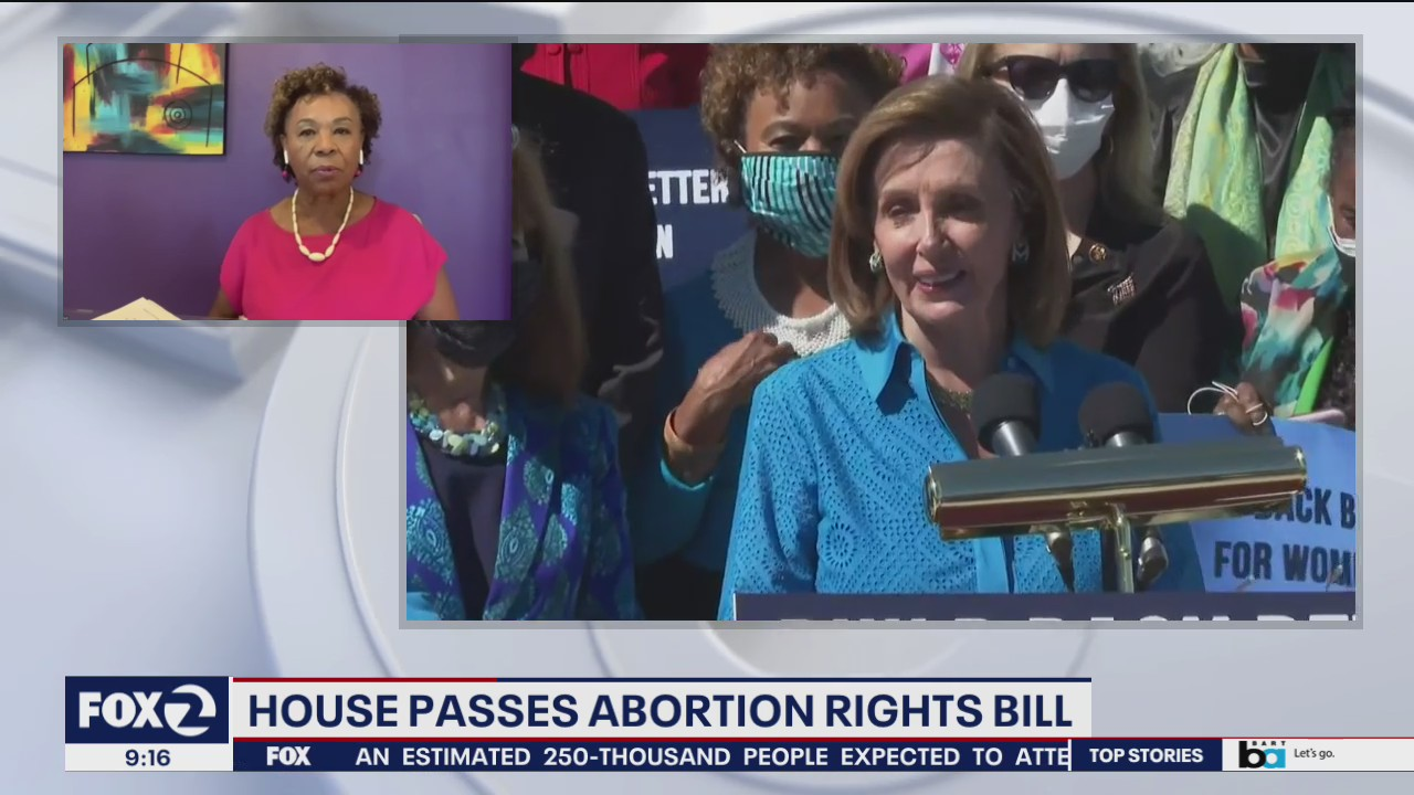 Rep. Barbara Lee on $3.5 trillion reconciliation bill and abortion rights access