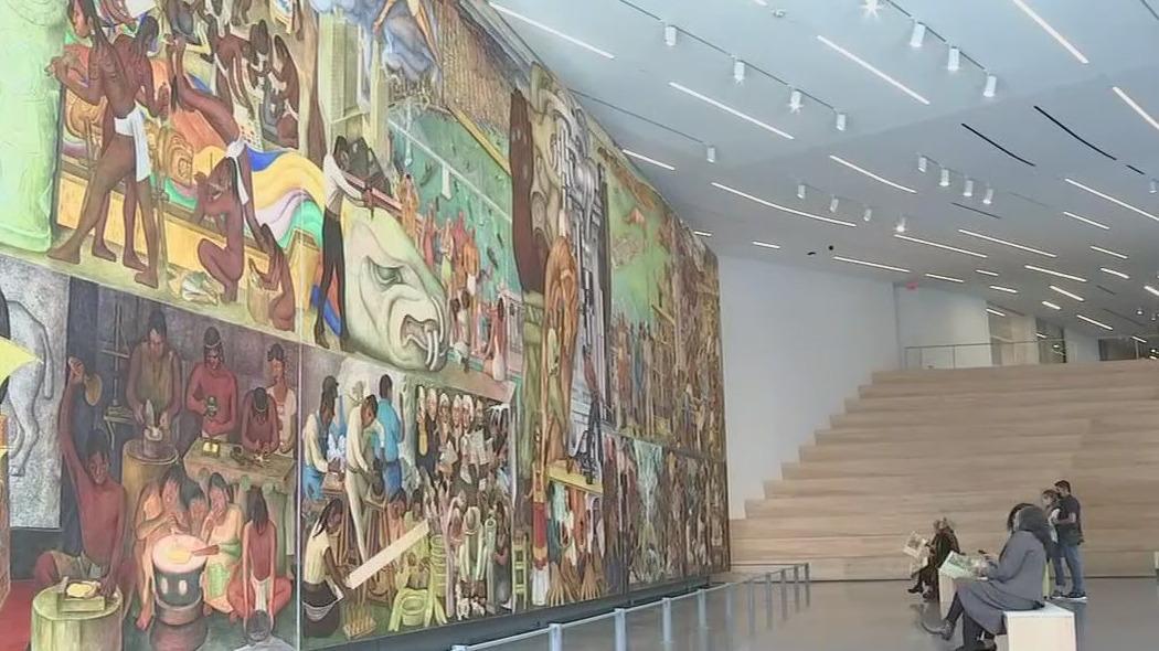 Painter Diego Rivera created last mural in U.S. on Treasure Island