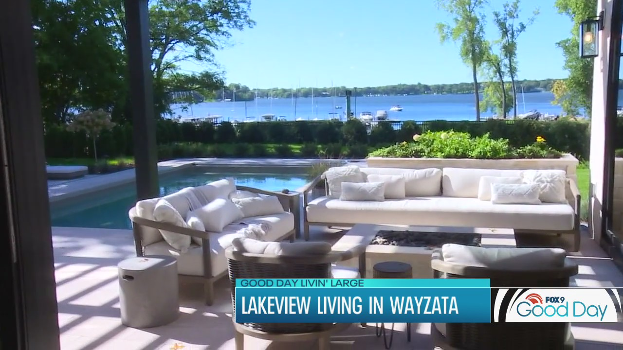Good Day Livin' Large: Head inside this luxurious new Wayzata home