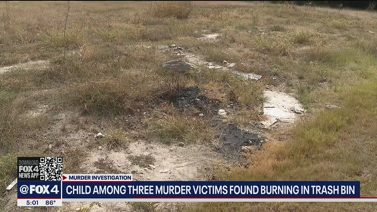 Dismembered bodies of child, female, man found in burning dumpster in Fort Worth