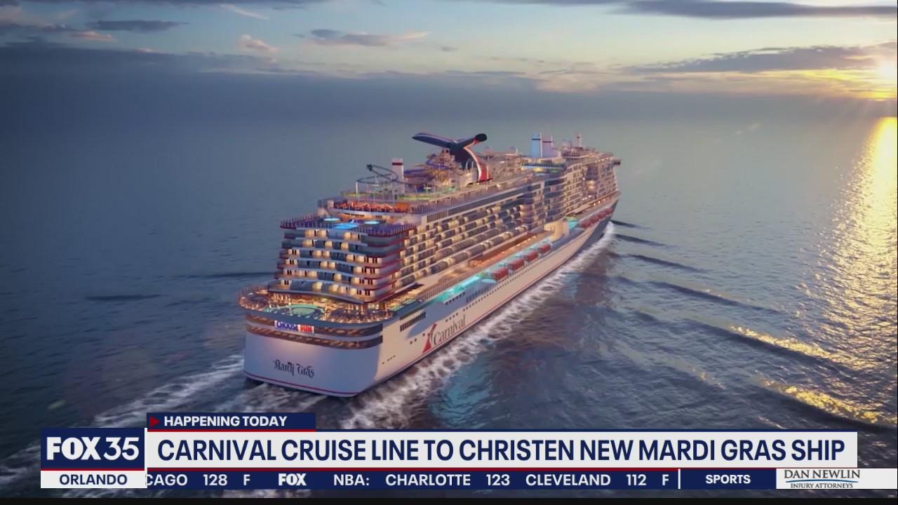 Carnival Cruise Line to christen new Mardi Gras ship