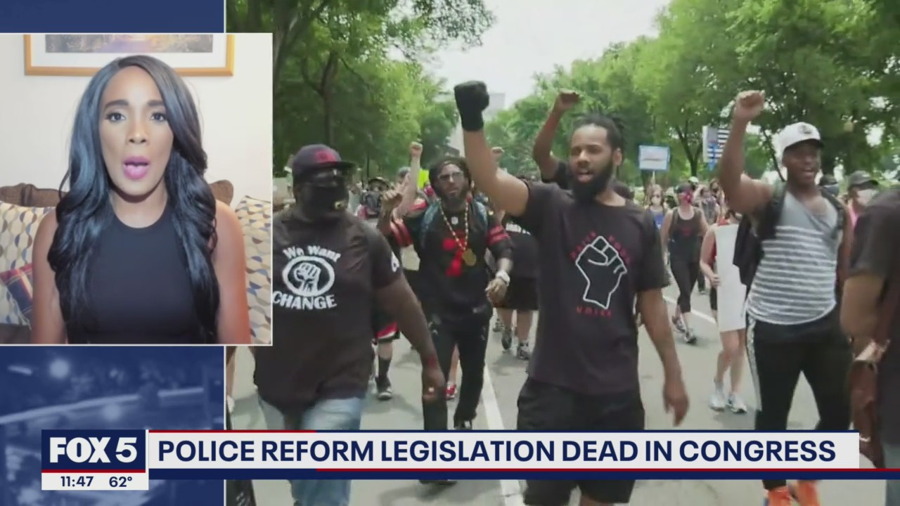 Hopes fizzle for bipartisan police reform